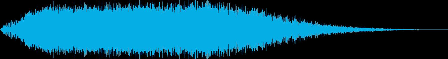 KANT怪獣の鳴き声short1の再生済みの波形