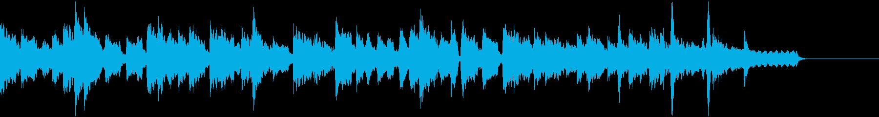 ゲーム・アニメ・CM向けオルガンバラードの再生済みの波形