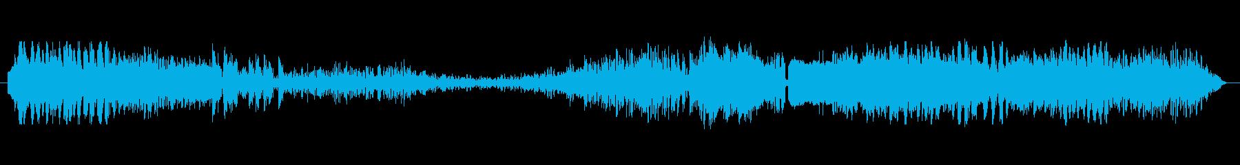 回転速度の遷移の再生済みの波形