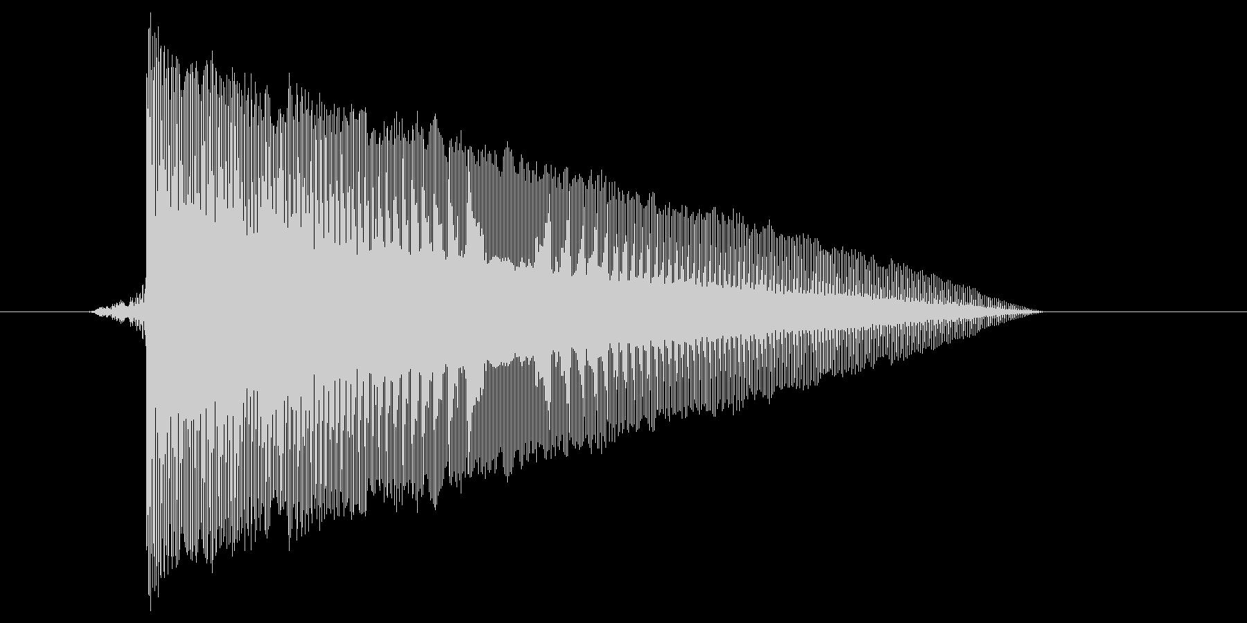 ゲーム(ファミコン風)レーザー音_002の未再生の波形