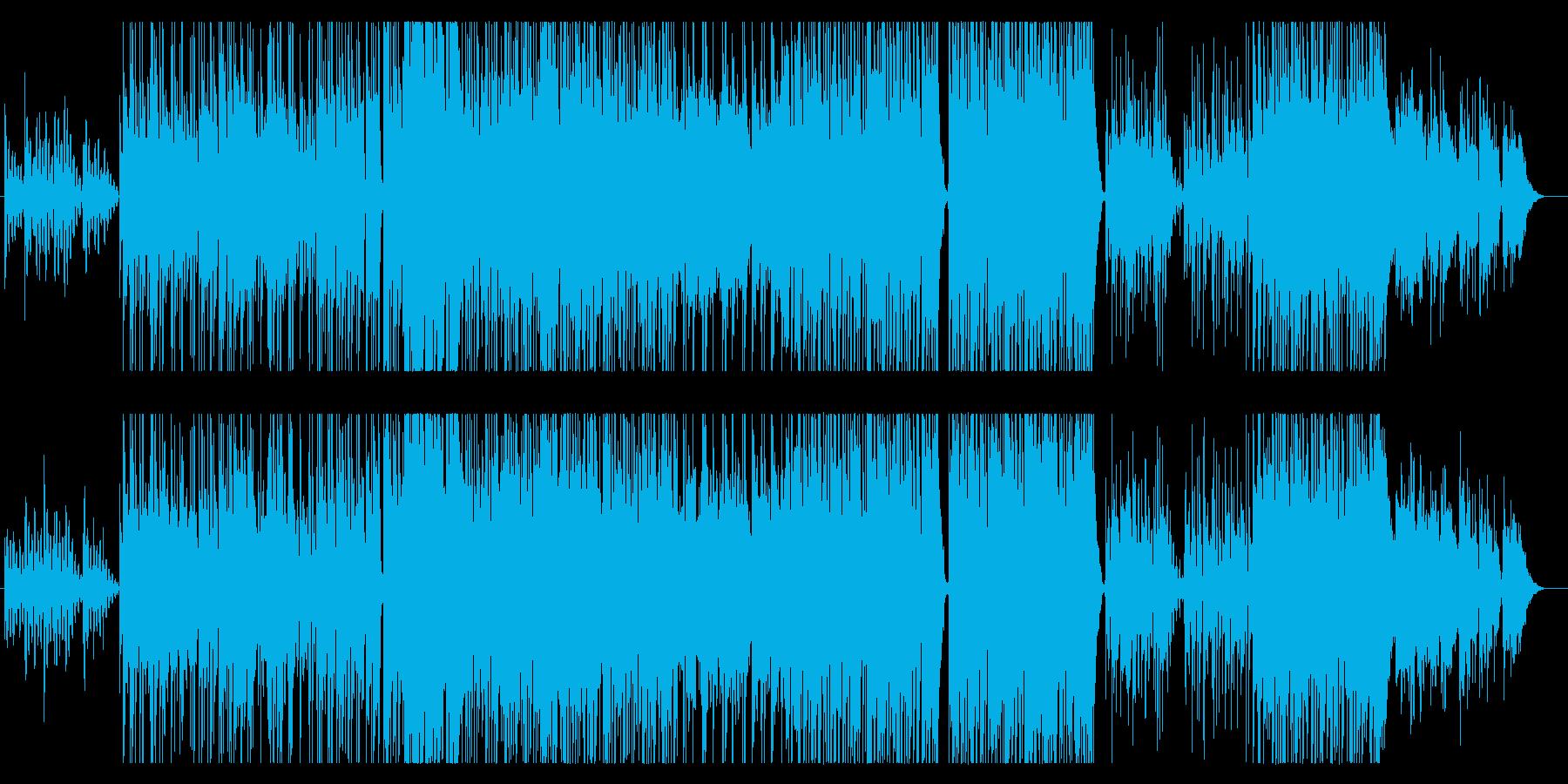 柔らかなエレキギターで泣かせるバラードの再生済みの波形