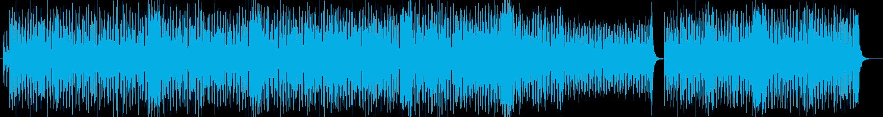 優遊楽しくシンセサイザーポップの再生済みの波形
