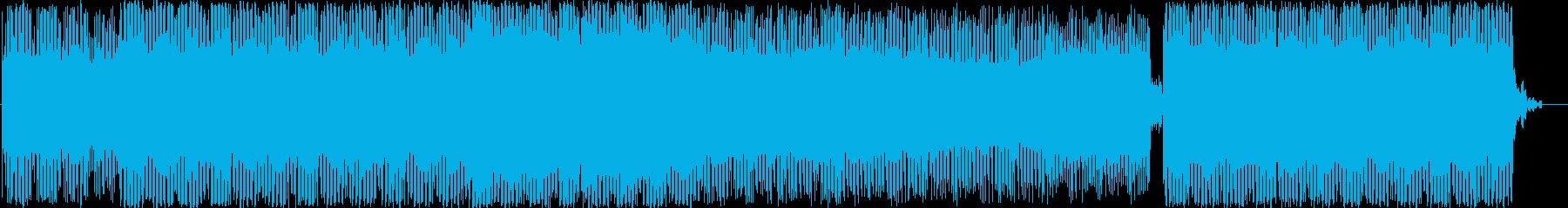 エレクトロニック アクション ad...の再生済みの波形