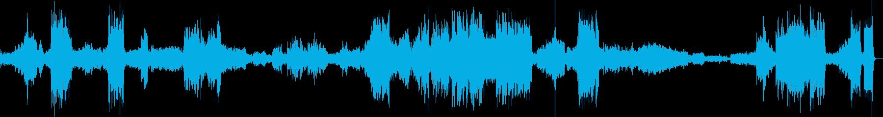 スピード感のあるロシアのクラシック音楽の再生済みの波形