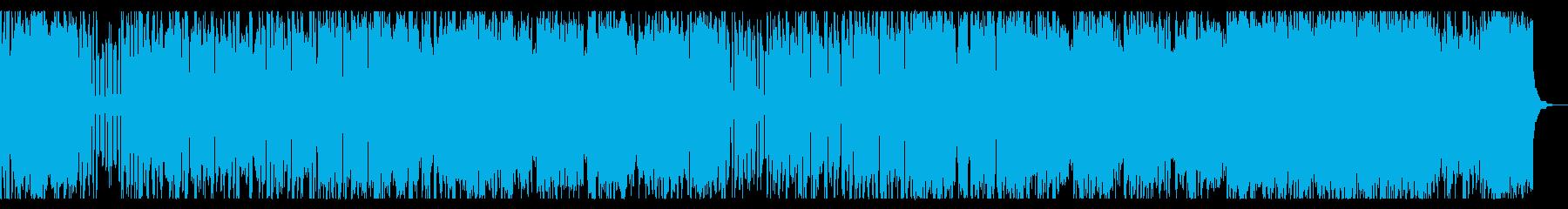 軽快、クールなチップチューンの再生済みの波形