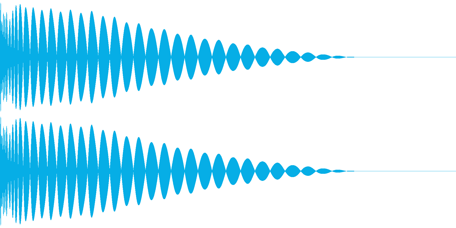 DTM Kick 84 オリジナル音源の再生済みの波形