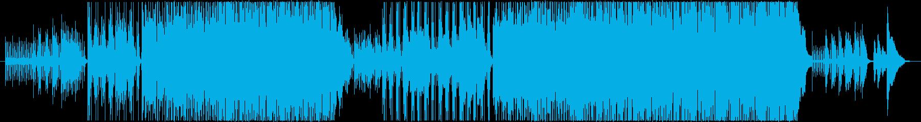 C-POPでギター曲の再生済みの波形