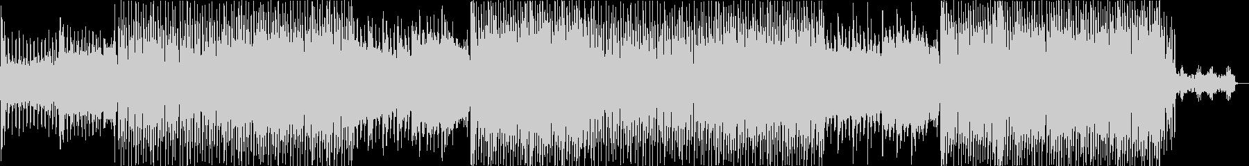 K-POP・激しいダークなレゲトンEDMの未再生の波形