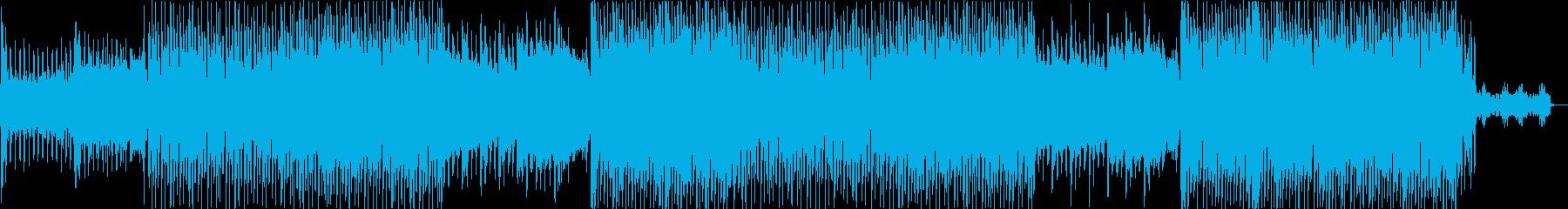 K-POP・激しいダークなレゲトンEDMの再生済みの波形