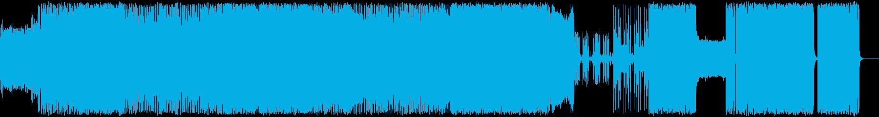 生演奏ギターダウンチューン冴えるヘビネスの再生済みの波形
