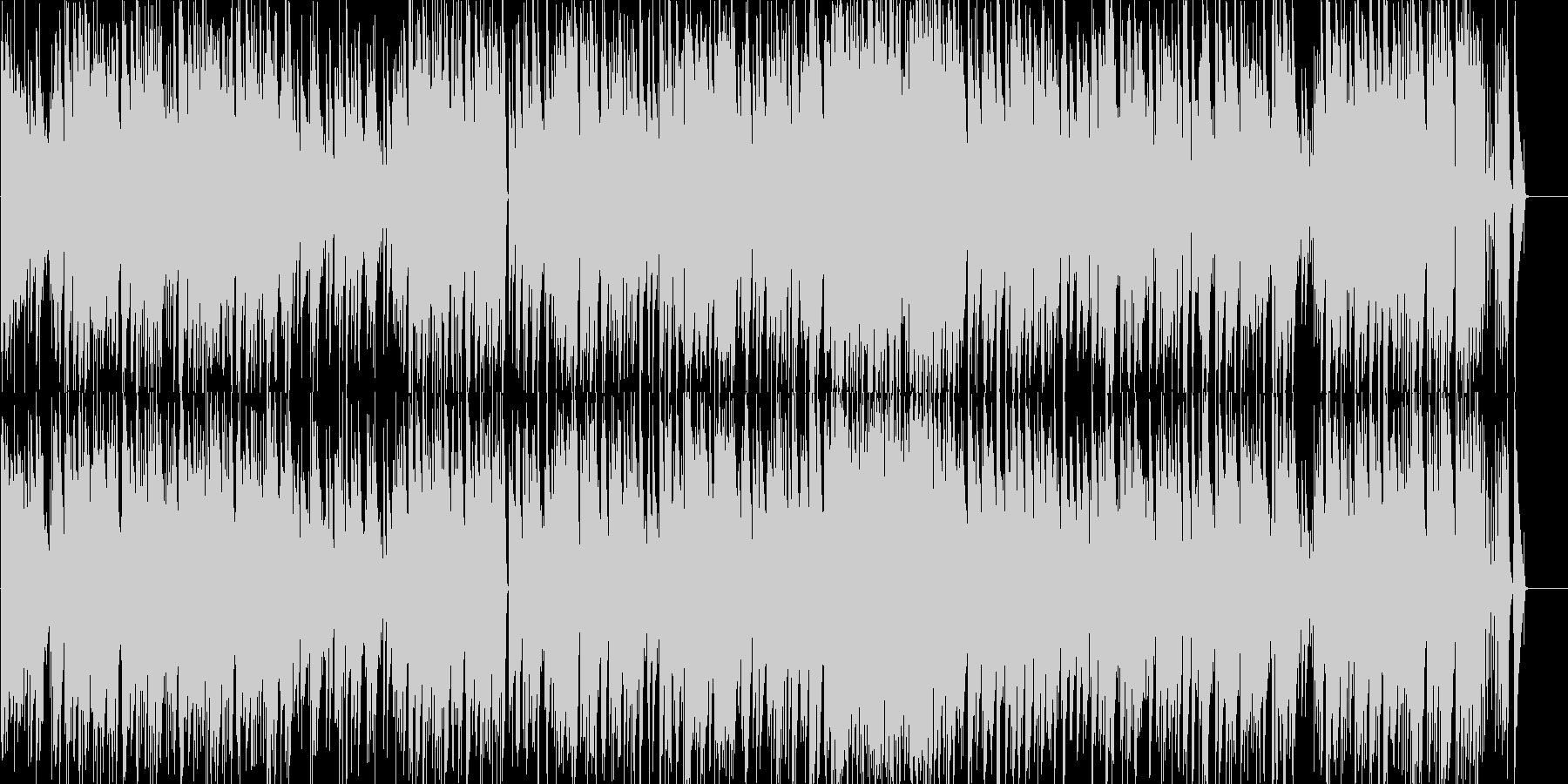 クラシカルでかわいいポップスの未再生の波形