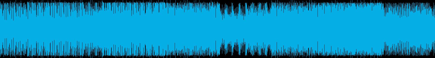 BPM150:ワークアウト:ループ版の再生済みの波形