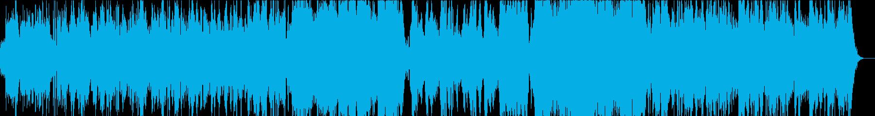 二胡でアップテンポで幻想的の再生済みの波形