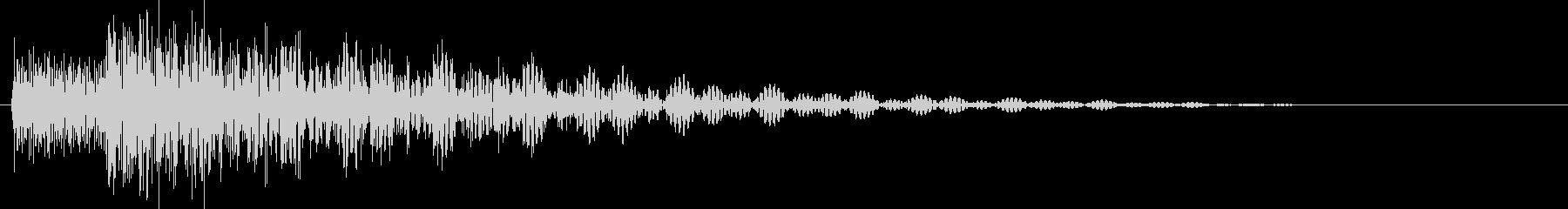 タララン 高 (ボタン、スタート音)の未再生の波形