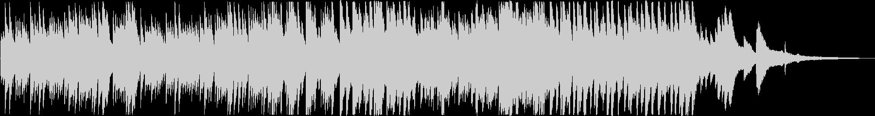 明るいコンセプトムービー向けピアノ曲の未再生の波形