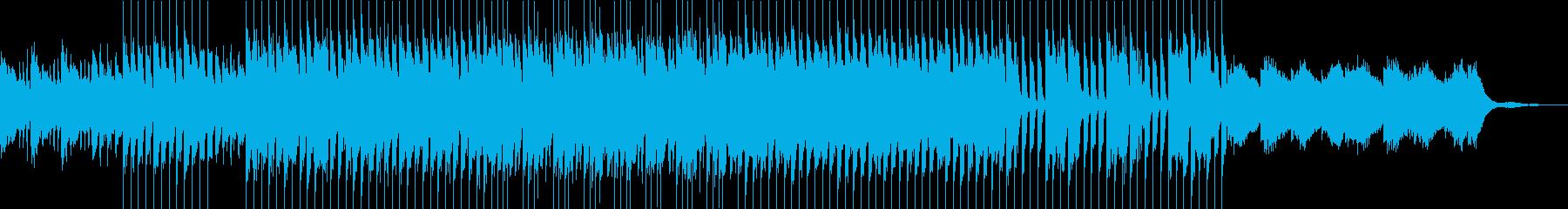 VP向け 爽やかで優しい4つ打ちの再生済みの波形