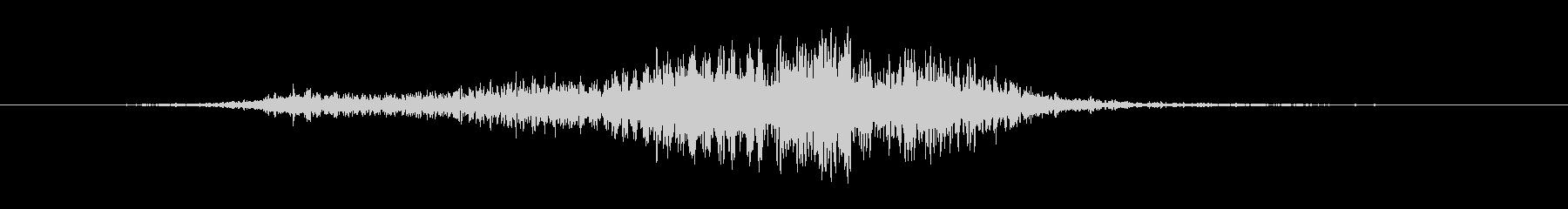 ホロー・スクリーチング・フーシュ5の未再生の波形