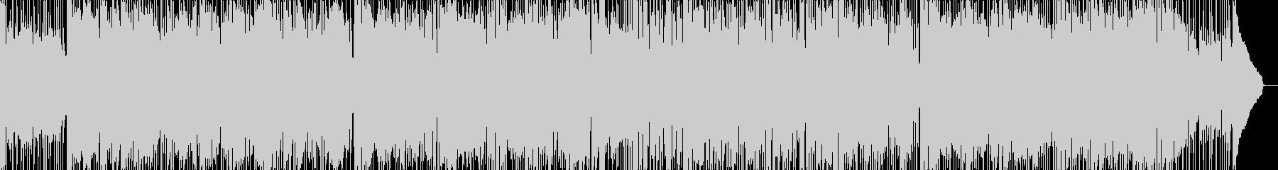 キッズ向けのミッドテンポBGMの未再生の波形
