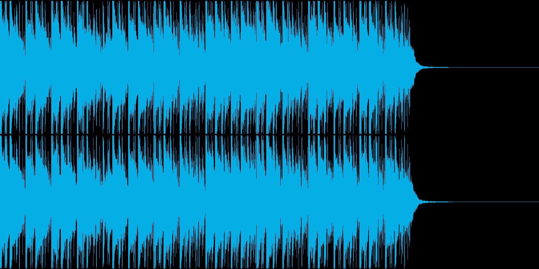 シンセベルが哀愁を感じさせる曲の再生済みの波形