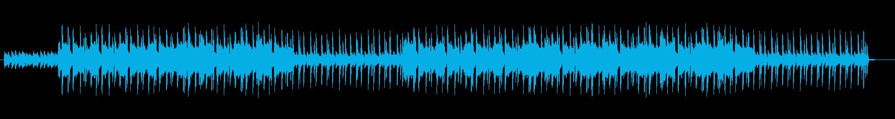 Lofi hip hop 不安定な感じの再生済みの波形