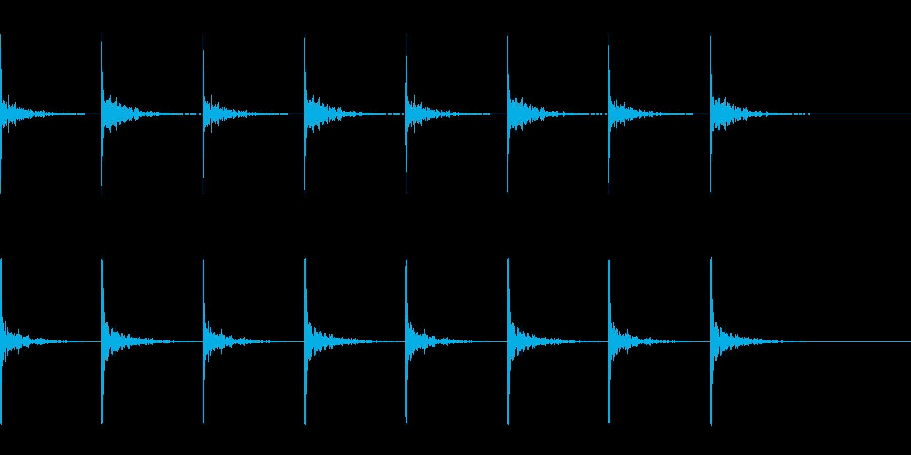 カウントダウン_その4の再生済みの波形