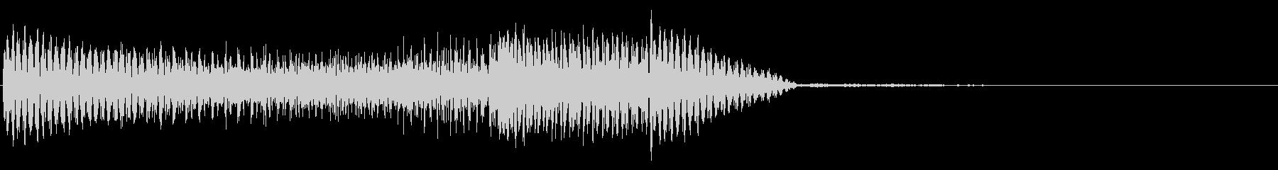 シンセコードスライドアクセント2の未再生の波形