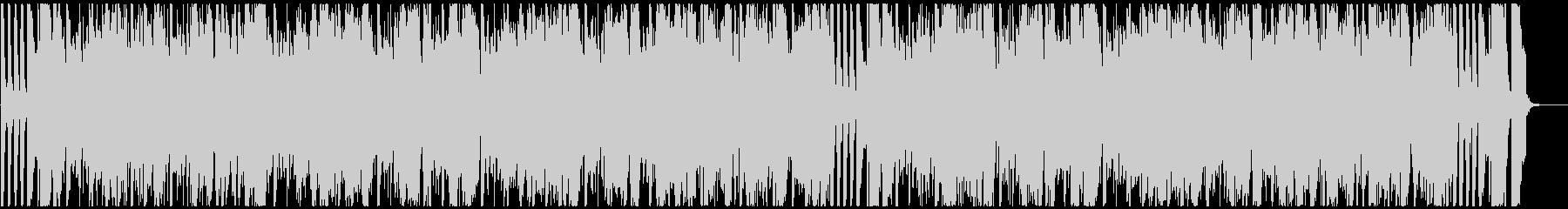 ファンキーなブラスのノリノリなファンクの未再生の波形