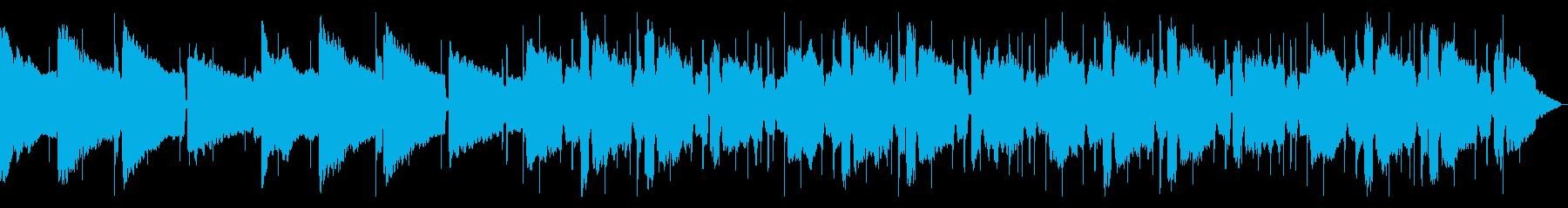 静かでスローなチルアウトBGMの再生済みの波形