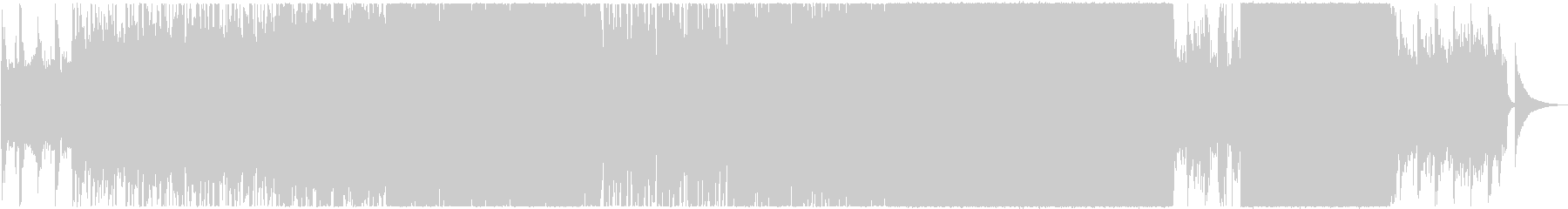 終末的で儚げな、美しいデジタルポップスの未再生の波形