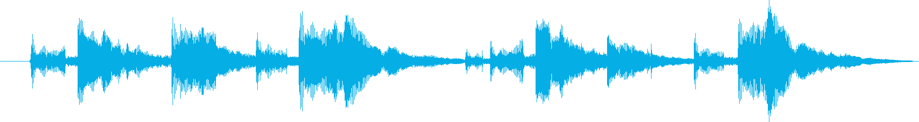 口琴8 野球のイニング交代 コント 煽りの再生済みの波形