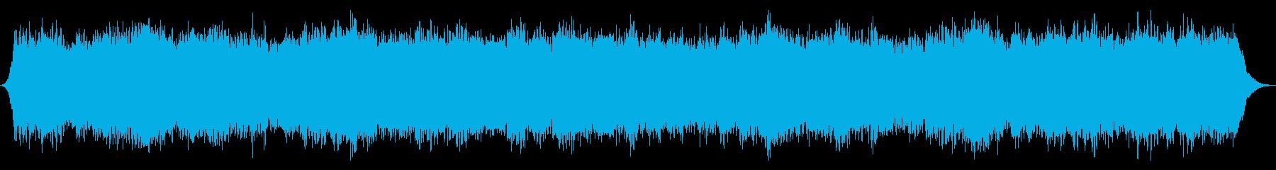 果てのない宇宙の再生済みの波形