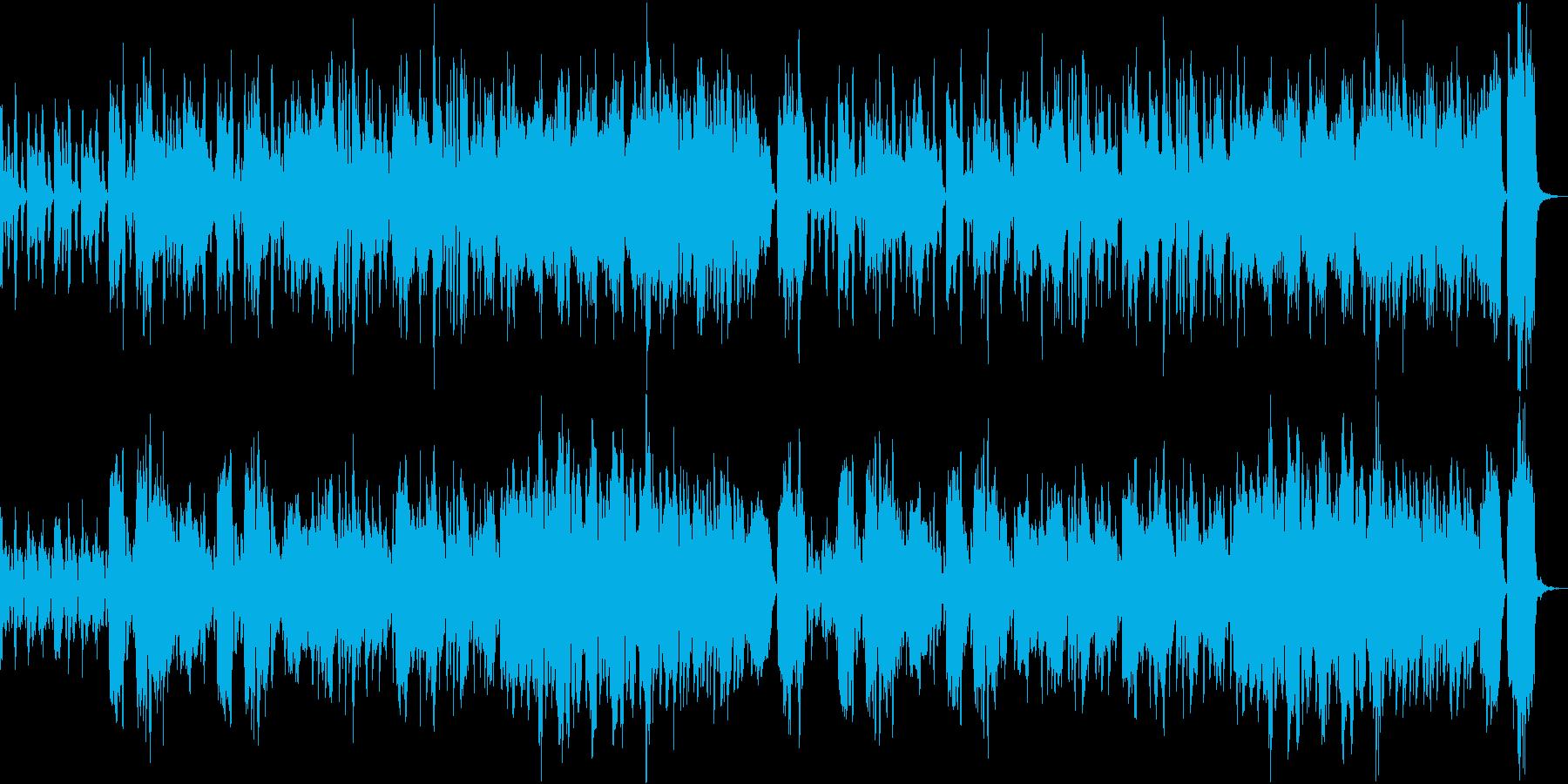 チェンバロが入ったオーケストラ系のほの…の再生済みの波形
