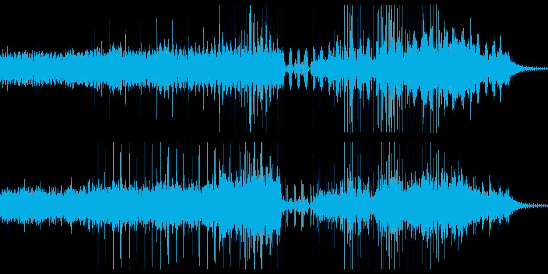 ジャズ風味の大人のエレクトロミュージックの再生済みの波形