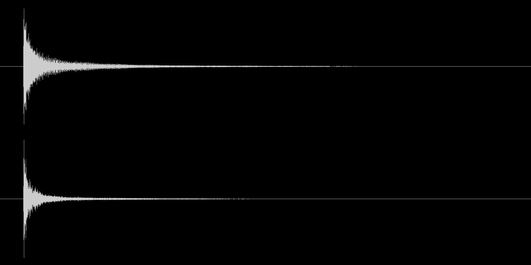 パーカッションティンパニアクセント...の未再生の波形