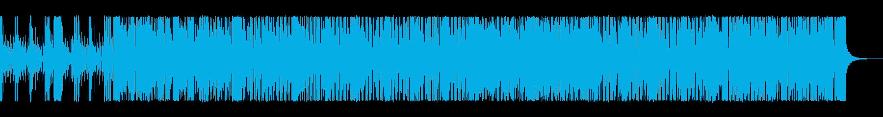 スピーディーで都会感のあるサウンドの再生済みの波形