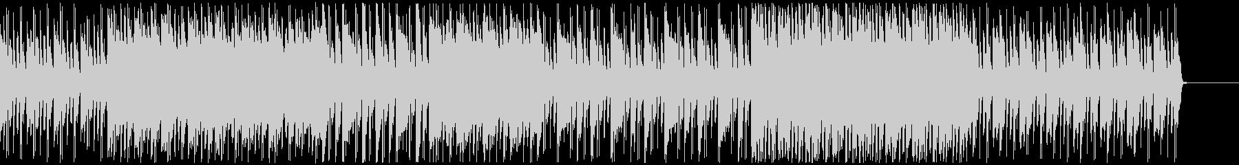 クールなゲーム曲/シンセサイザーの未再生の波形