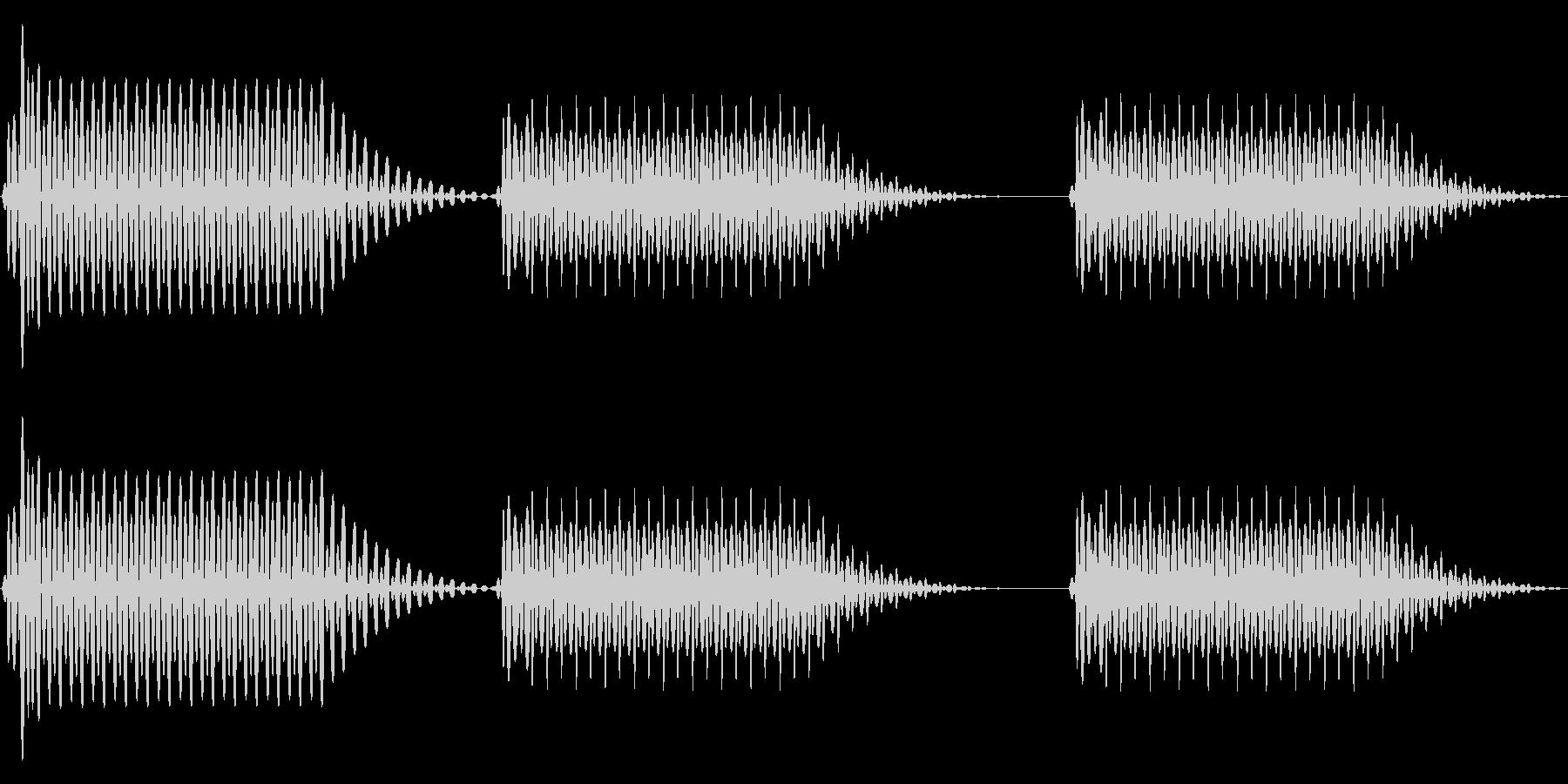 往年のRPG風 セリフ・吹き出し音 3の未再生の波形