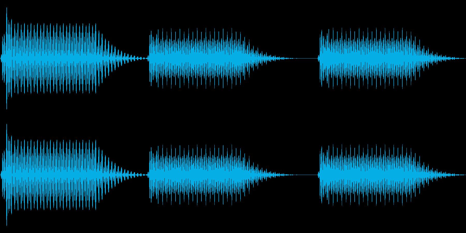 往年のRPG風 セリフ・吹き出し音 3の再生済みの波形