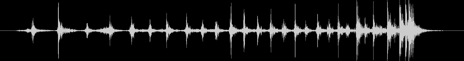 家庭 カップスピン03の未再生の波形