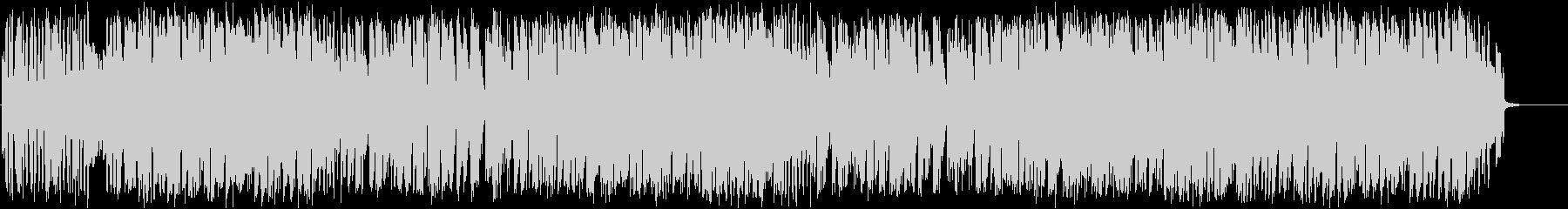 トランペットがおしゃれなゆったりとした曲の未再生の波形
