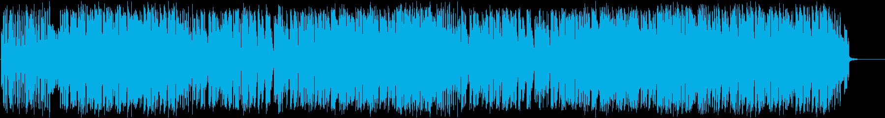トランペットがおしゃれなゆったりとした曲の再生済みの波形