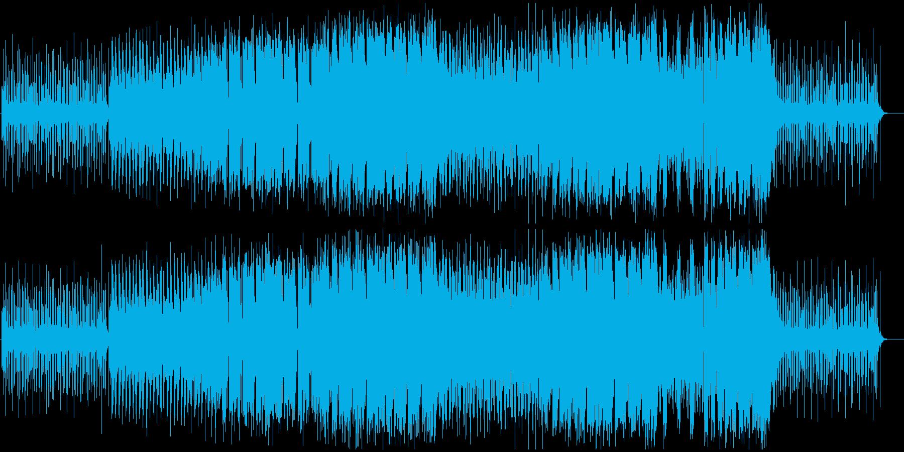 元気の出るトロピカルハウス フル歌の再生済みの波形