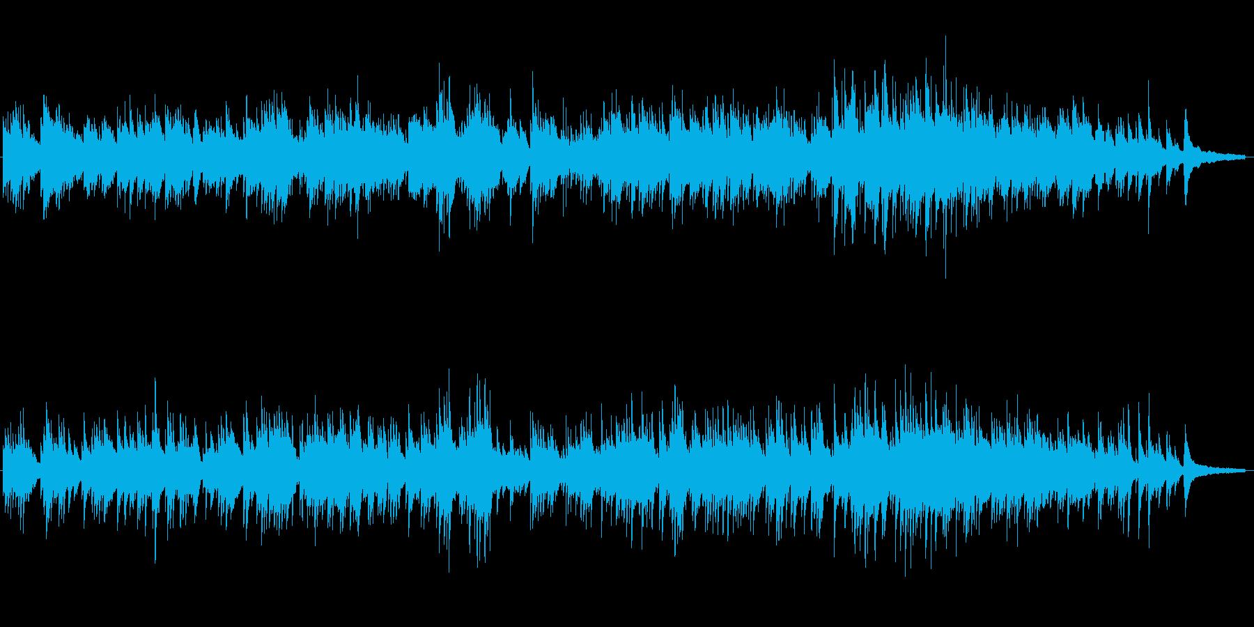 線を繋げたようなピアノソロ。結婚式等に。の再生済みの波形