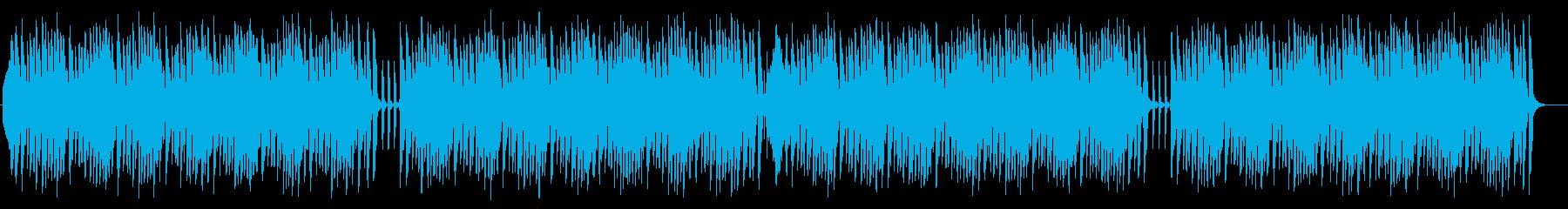 ギターとストリングスのお洒落なBGMの再生済みの波形