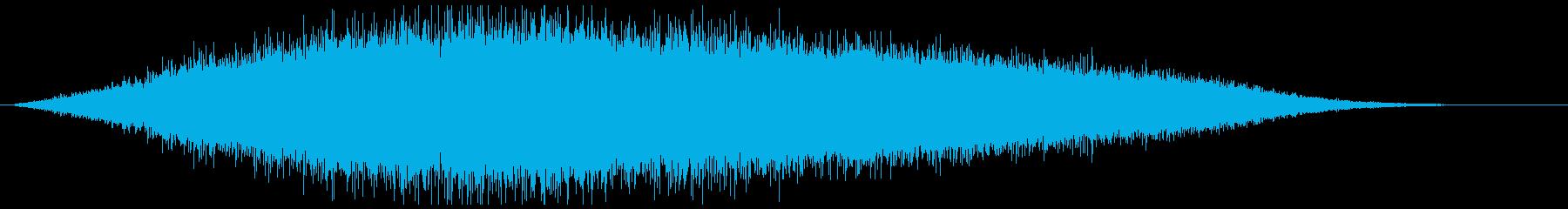 空気 ガス 漏れ等(シュゥゥ…)の再生済みの波形