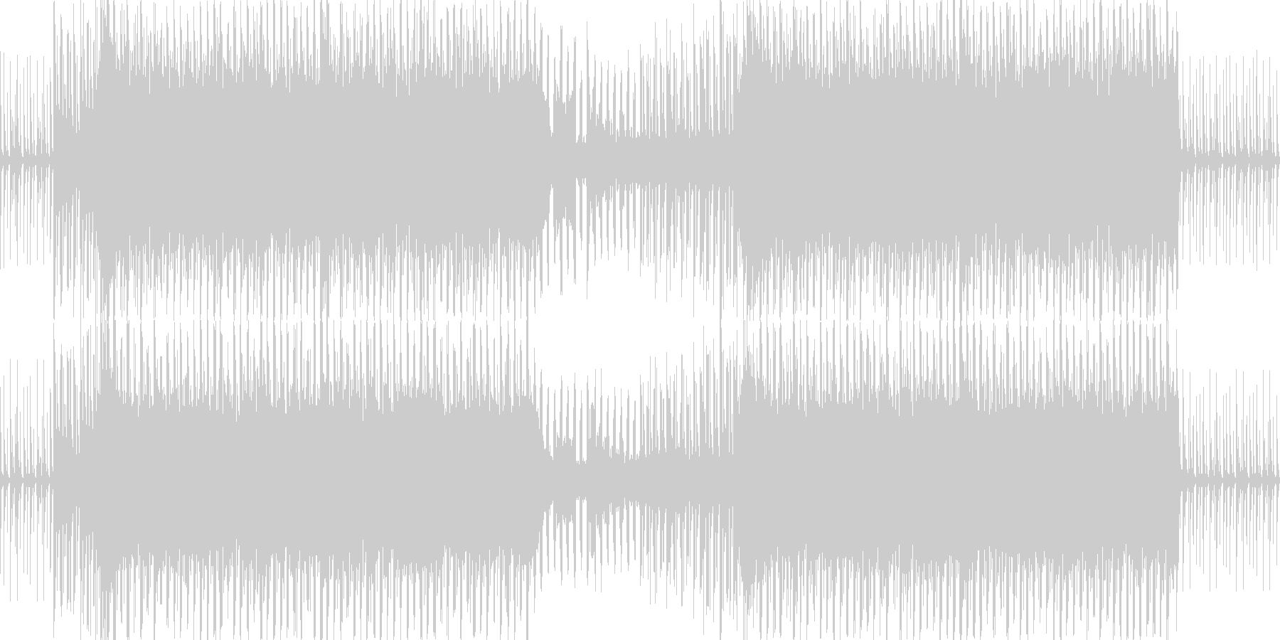 キャッチーで明るいEDMの未再生の波形