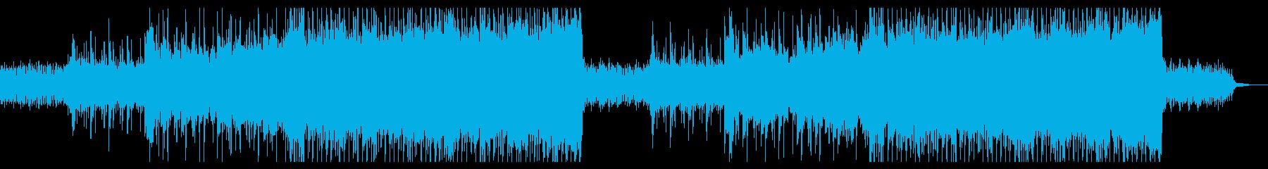 壮大で叙情的な映画音楽・エピック系BGMの再生済みの波形