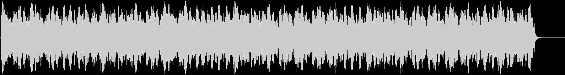 苦悩 謎解 不安 シンプルなミニマル音楽の未再生の波形