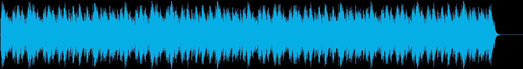苦悩 謎解 不安 シンプルなミニマル音楽の再生済みの波形