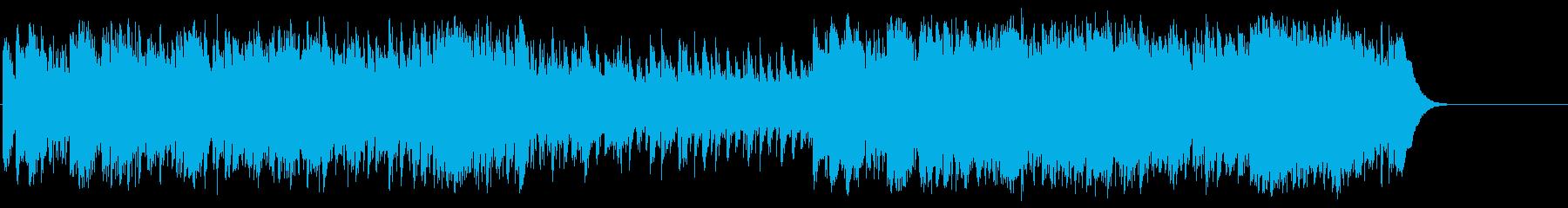 華々しくオープニング向けポップ/BGの再生済みの波形